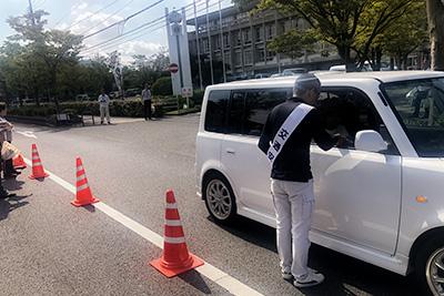 交通安全キャンペーンの実施