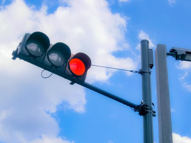 交通安全のための信号